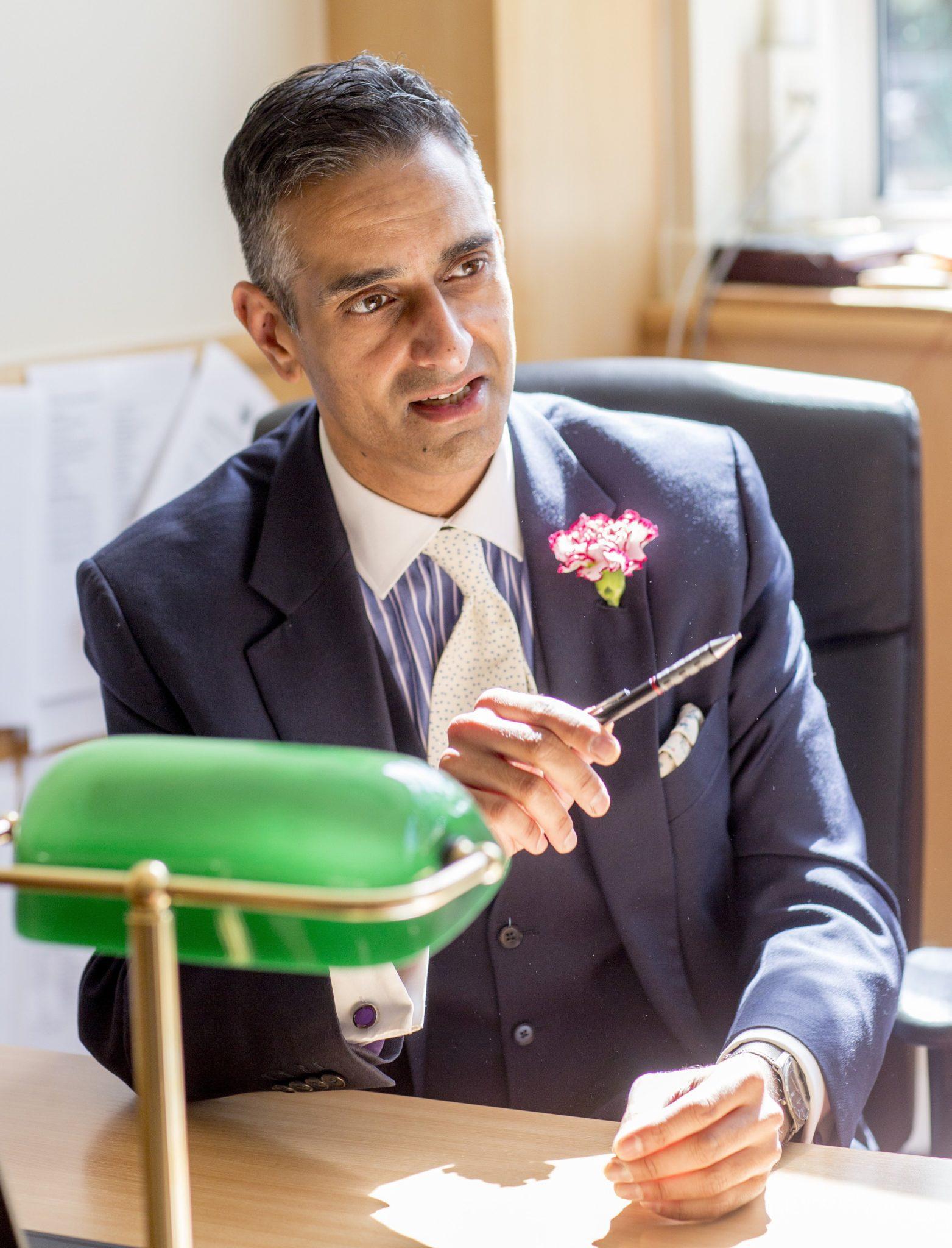 Dr Millan Sachania | Streatham & Clapham High School