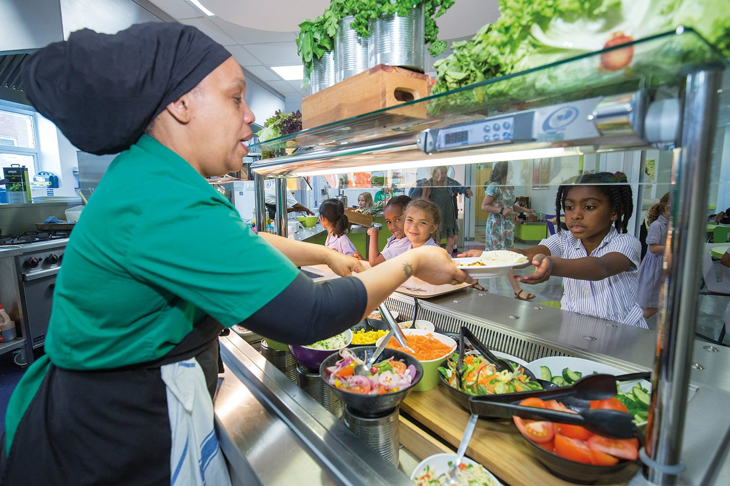 Streatham & Clapham High School —Prep healthy lunch