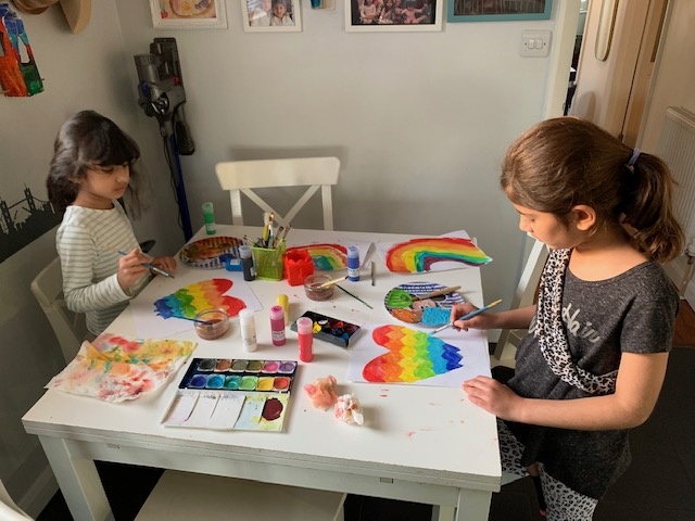 Streatham & Clapham High School —Busy art Rania, homelearning