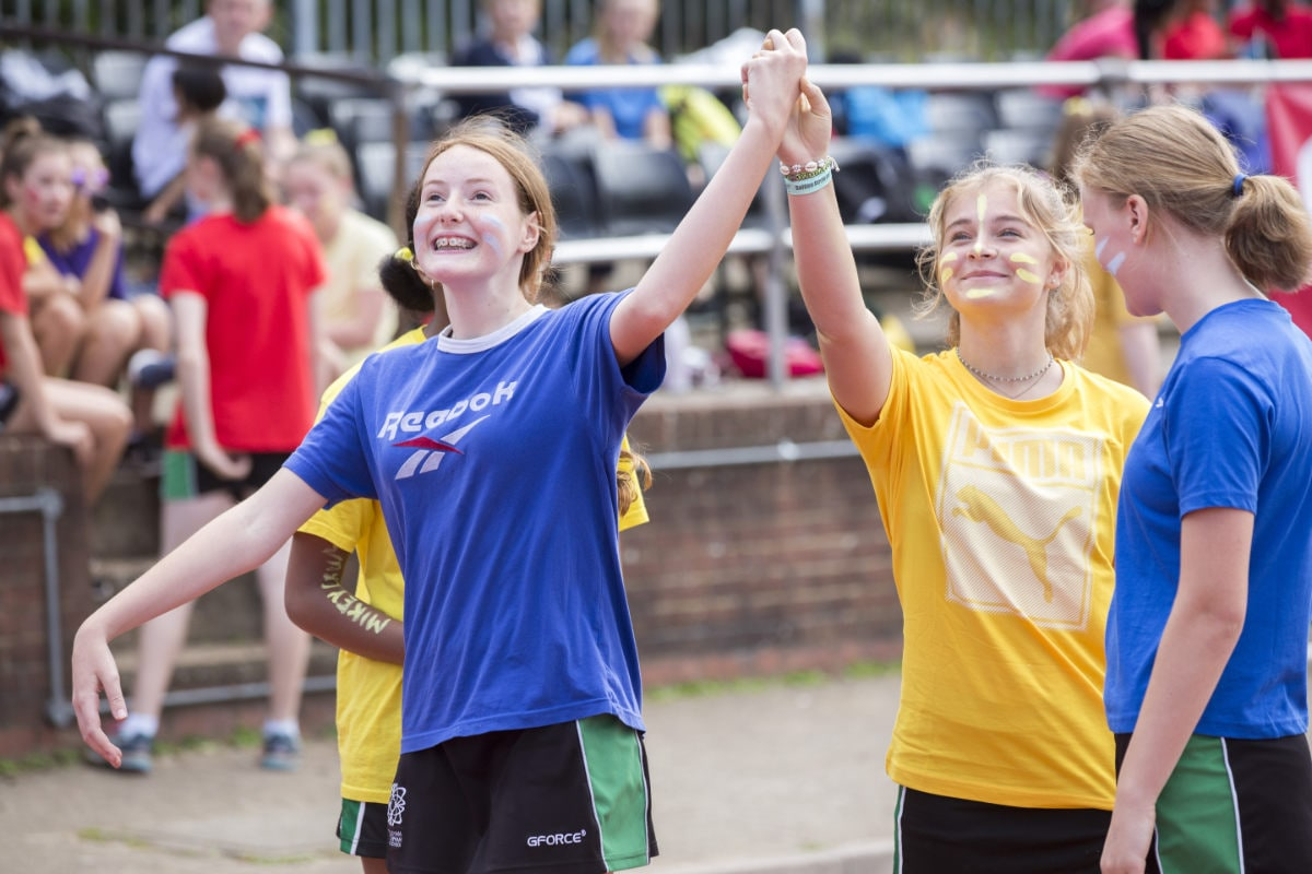 Franklin and Carter house girls celebrate success together