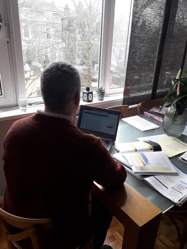 Streatham & Clapham High School —Sean teaching GHL at home