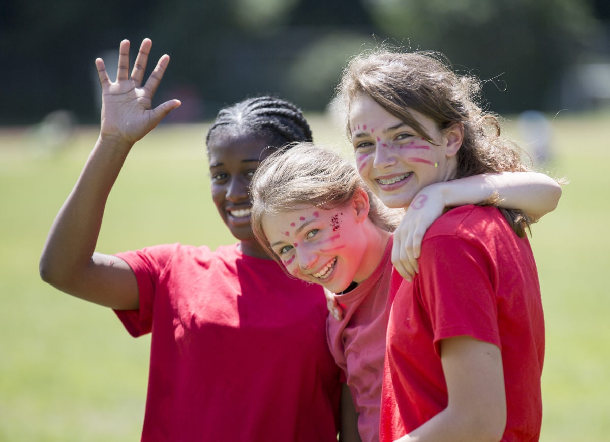 Streatham & Clapham girls are Happy, confident learners