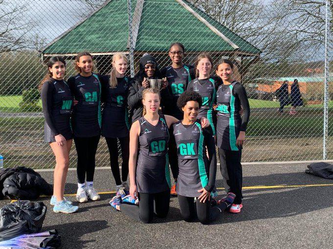 Streatham & Clapham High School —Surrey netball champions u19