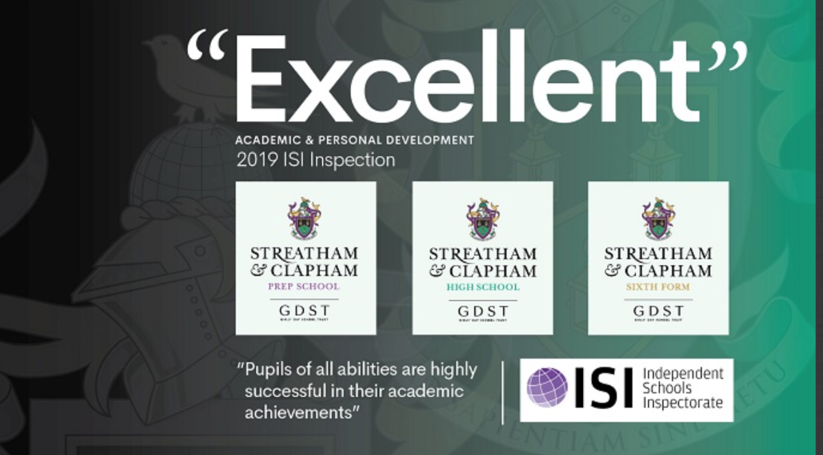 ISI rates us 'Excellent' in both Academic & Personal Development