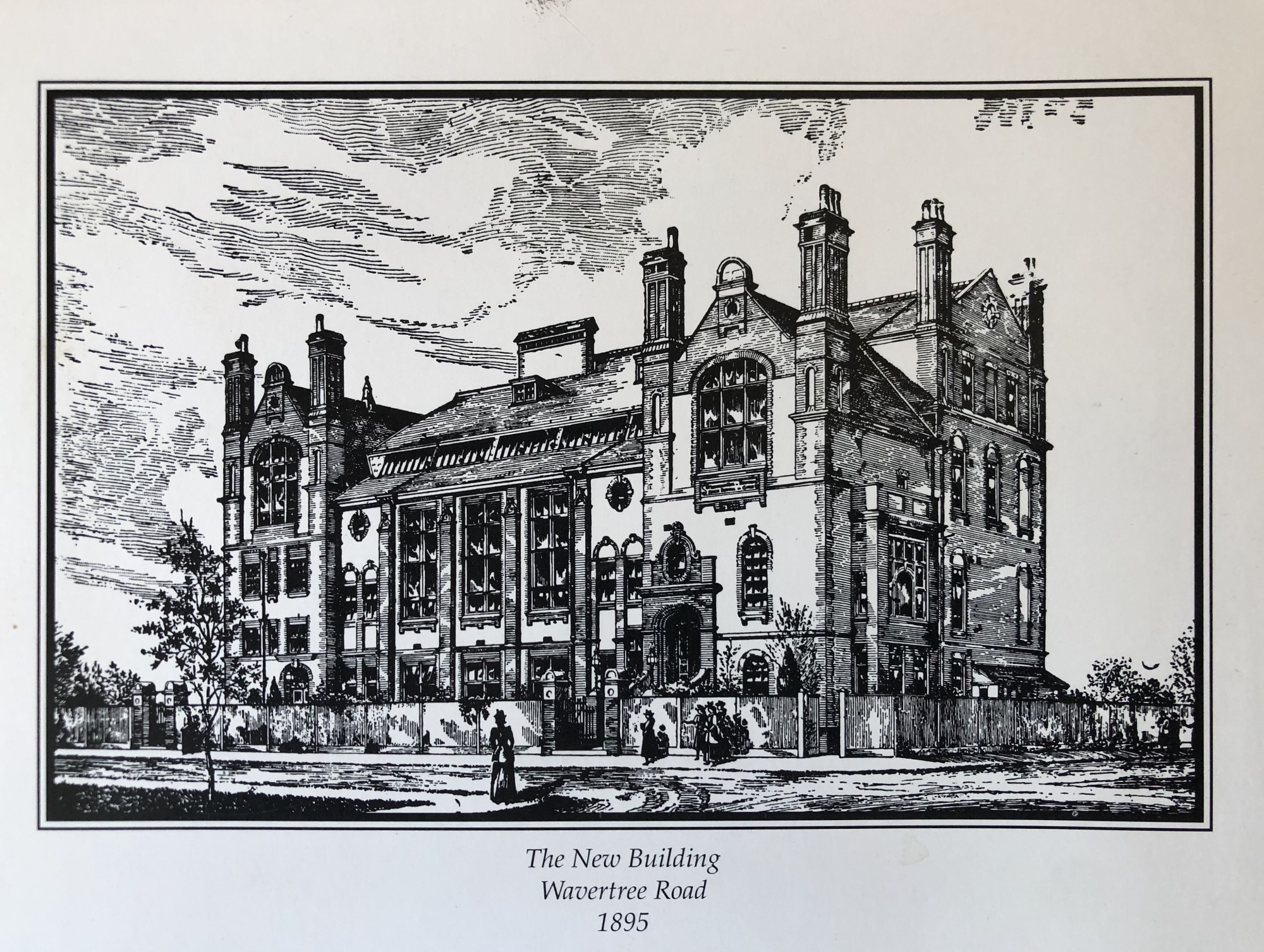 Streatham And Clapham High School —Wavertree Road, 1895