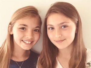 Olivia (U3) and Annabelle (Y5)