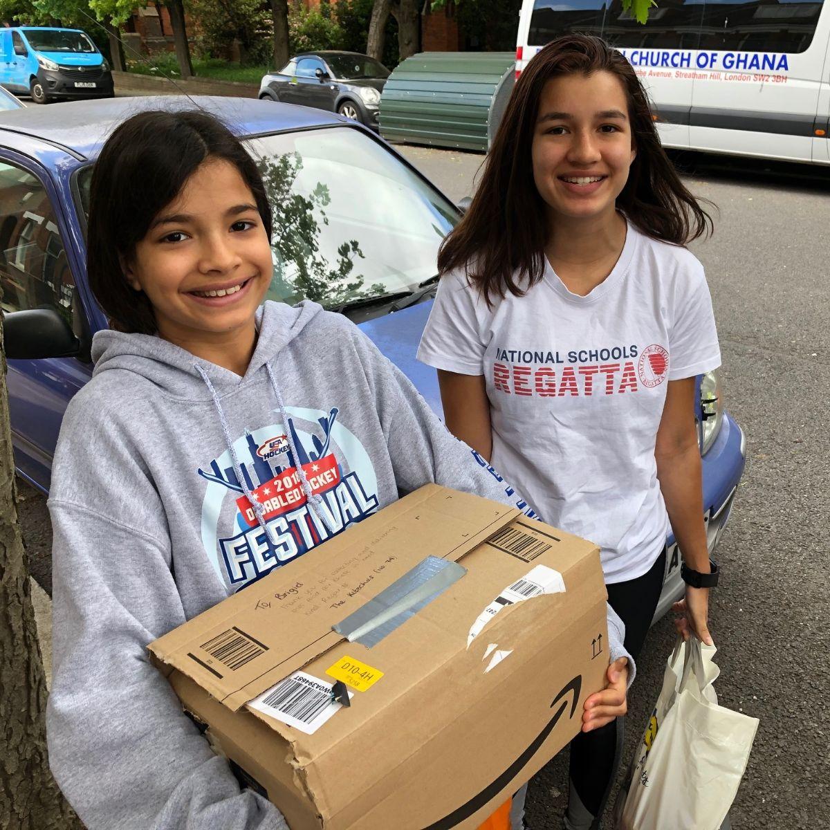 SCHS Sisters Lead Neighbourhood Effort against Hunger 2