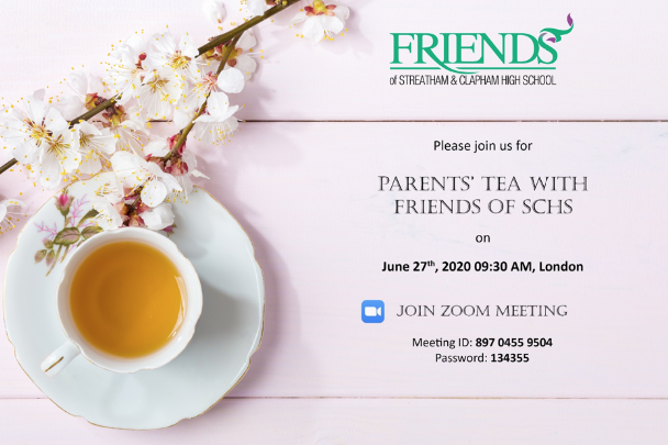 Parents' Tea With SCHS FRIENDS