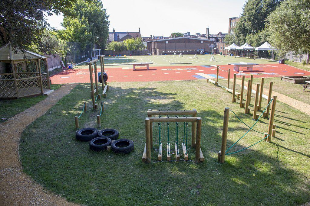 New playground area
