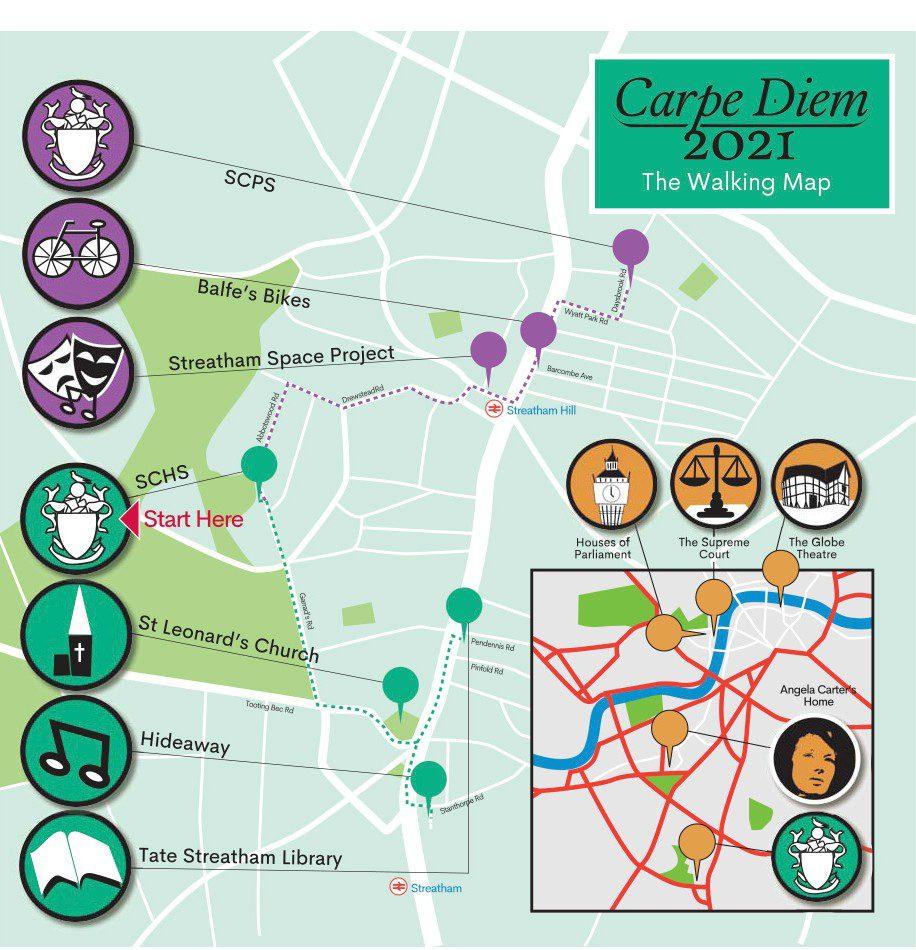 Carpe Diem - The Walking Map