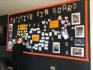 Positive Pin Board